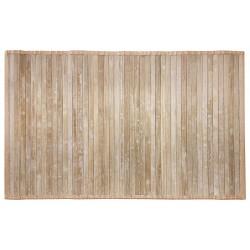 Tappeto bamboo tinta unita...